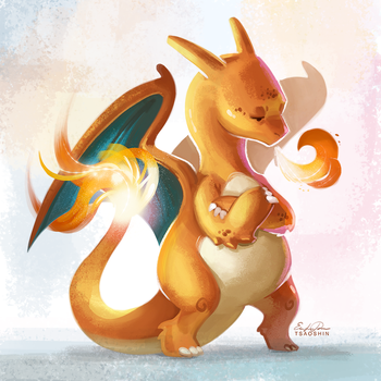 006 - Charizard by TsaoShin
