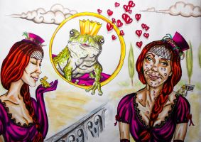 love ,frog and bullshit 2 by FDupain