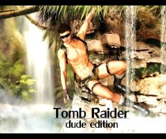 Tomb Raider (male version) by StarchasersDream