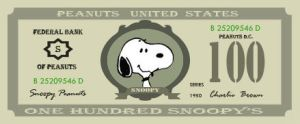 snoopy's money by zilah13