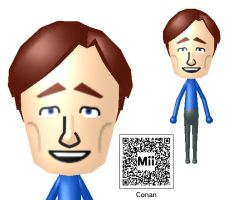 Conan O'Brien Mii by Lwiis64