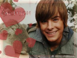 Zac Efron wallpaper by ArienGreenleaf