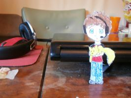 rob and zap paperchild by moonlightartistry