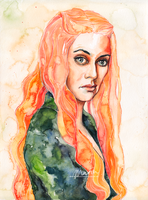 Cersei by MariaBruggeman