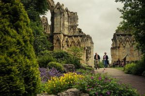 St Mary's ruins by colouredwalls