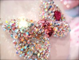 Crystal Bling Deco Bow by prettypop