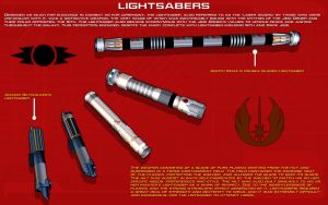 Lightsabers Tech Readout [New] by unusualsuspex