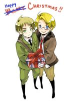 Hetalia - Happy Holidays 2008 by kanae