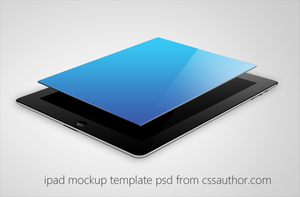 Beautiful iPad Mockup Template PSD for Free by cssauthor