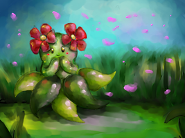 TVP: Bellossom by Frozen-Wing