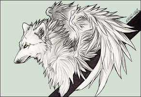 .:WhiteWingedWolf:.Hopefully.: by WhiteSpiritWolf