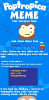 Poptropica meme by 1313cookie