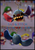Lilo and Stitch: Stitch Plush Keychain by username0hi0