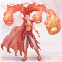 Fire Mage by Ranivius