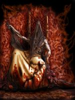Pyramid Head Throne by Lucius-Ferguson