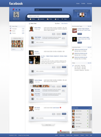 Facebook - Redesign by Czarny-Design