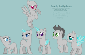 MLP Base 191 by Twiily-Bases