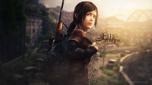 The Last Of Us - Ellie Wallpaper by SoarDesigns