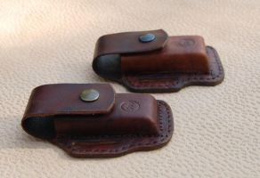 LEATHER SHEATHS by swietyleather