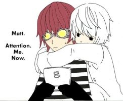 MattNear - Attention. Me. Nao. by ParanoidEscapism
