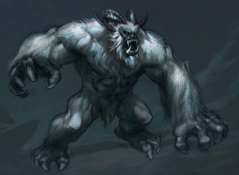 MinohKim Neverwinter Yeti by MinohKim