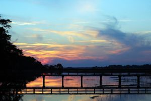 Sunset in South Carolina (Hilton Head Island) by winterface