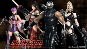 Ryu Hayabusa and The Girls Wallpaper by Shadowninja787844