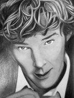 Benedict Cumberbatch by saltylime
