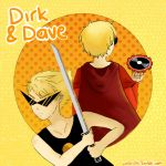 Dirk and Dave by AbyVanEnvurio