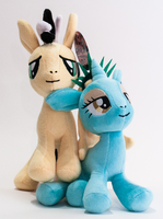 Cabbie and Liberty Plushies by KarNYCLoAMR