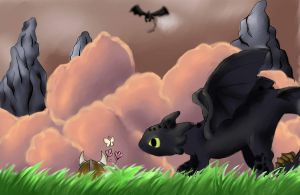 toothless by gaara-lover-9