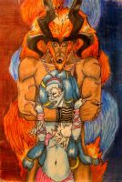 Shiva and Ifrit by Papa-John