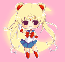 Sailor Moon Cheeblet by AndreaJacqLee