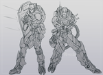 Army of tworians .:Lines:. by Krubbus