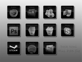Dock Icons by LuckeBjucke