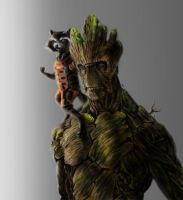 WE ARE GROOT by RushYesZeppelin