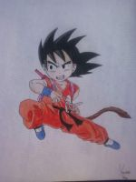 Kid Goku by KuroMizana