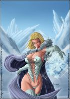Emma Frost by diabolumberto