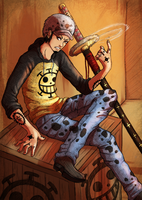 Trafalgar Law by Rakkigaru