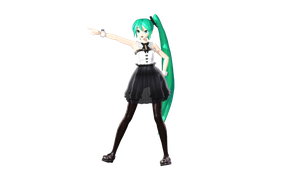 MMD DT BM Miku Preview by willianbrasil