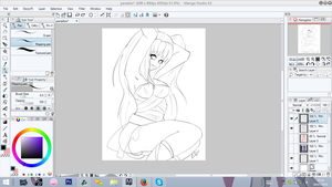 AT: Paradox wip [LINES] by Lunathyst
