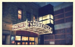 Proctor's Theater Marquee (Rear) by KWilliamsPhoto