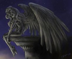 Not an Angel - coloured by luvmegabyte