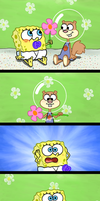 Random Flower Mini-Comic by Allenare