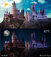 Ancient Castle FULL SCREEN for xwidget by jimking