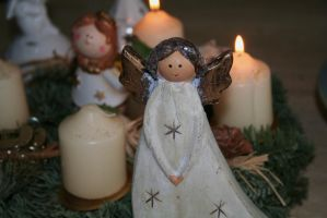 angels for christmas by ingeline-art