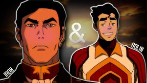 Iroh and Bolin (entry) by xBrookies