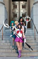 Outer Senshi - the family by saindonienne
