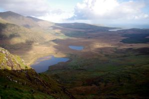 Lakes view - Co. Kerry by CleaLlyfr