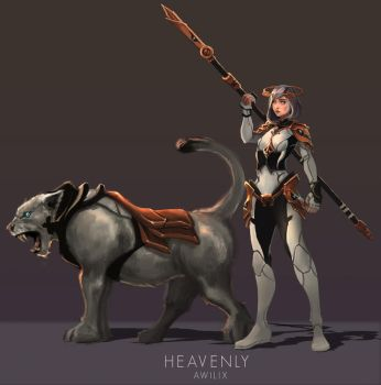Heavenly - Awilix by RobCV